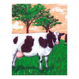 Defiant Dairy Cow Letterhead