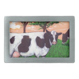 Defiant Purple Cow Belt Buckle