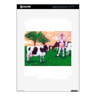 Defiant Purple Cow iPad 3 Decals