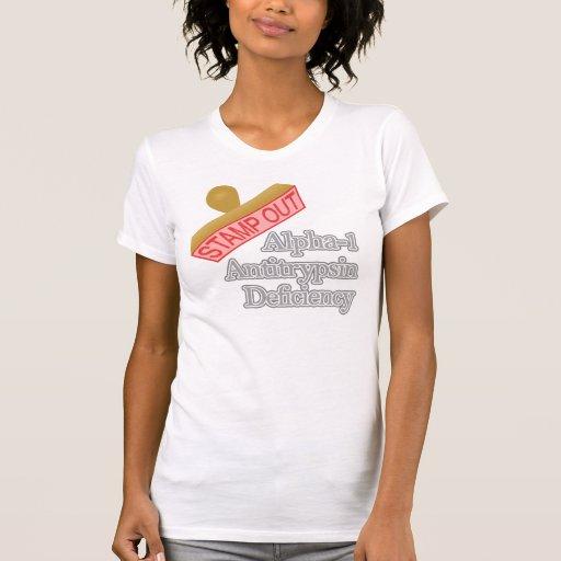Deficiencia de la alfa-1-antitripsina camisetas