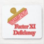 Deficiencia del factor XI Tapetes De Raton
