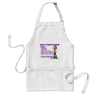 Deficit Attention Disorder Apron