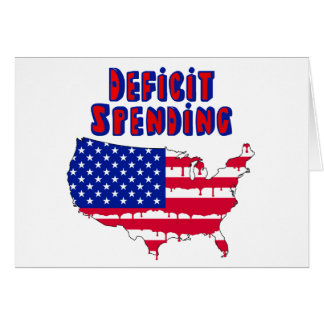 Deficit Spending America Card