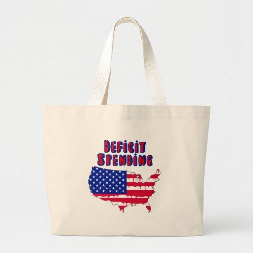 Deficit Spending America Jumbo Tote Bag