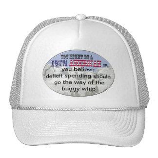 deficit spending trucker hat