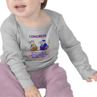 deficit spending taxpayers on toes tshirt