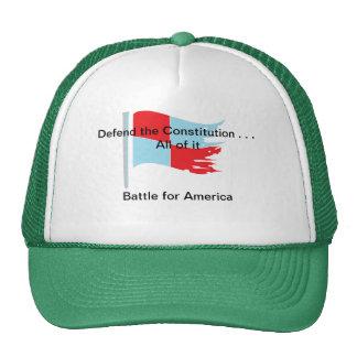 Defienda la constitución…. Toda la ella Gorra
