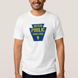 Defienda la enseñanza pública en el PA Camisas
