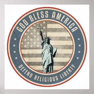 Defienda la libertad religiosa poster