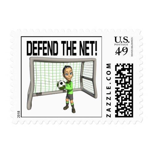 Defienda la red