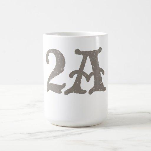Defienda la segunda enmienda taza de café