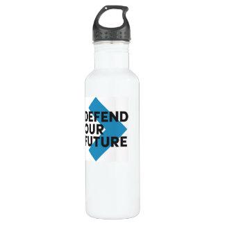 Defienda nuestra botella de agua futura