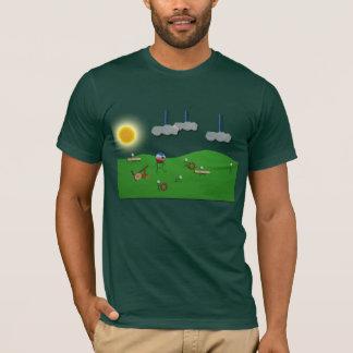 Defienda su camiseta del castillo