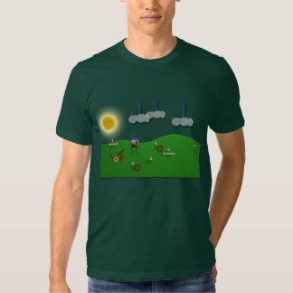 Defienda su camiseta del castillo playera