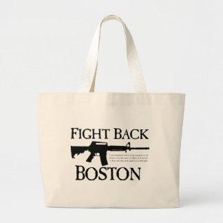 ¡DEFIÉNDASE BOSTON! BOLSA LIENZO