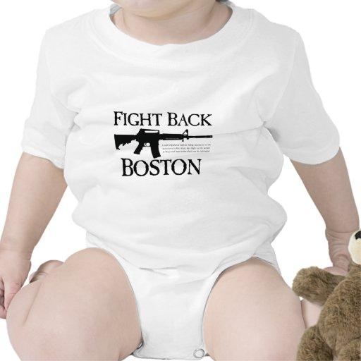 ¡DEFIÉNDASE BOSTON! CAMISETA