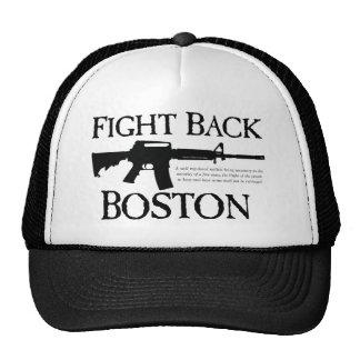 ¡DEFIÉNDASE BOSTON! GORRAS DE CAMIONERO