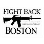 ¡DEFIÉNDASE BOSTON! POSTAL