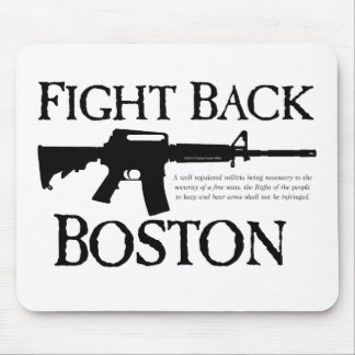 ¡DEFIÉNDASE BOSTON! TAPETES DE RATONES