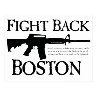 ¡DEFIÉNDASE BOSTON! TARJETAS POSTALES