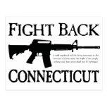 Defiéndase Connecticut Tarjetas Postales