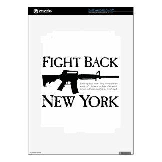 Defiéndase las mercancías de la rebelión de Nueva  iPad 2 Calcomanías