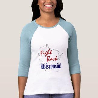 ¡Defiéndase Wisconsin - nueva fiesta del té Camisetas