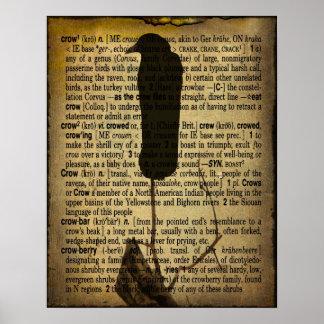 Defina el cuervo poster