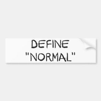 Defina normal
