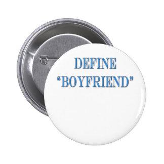 Define Boyfriend Blue Text Pins