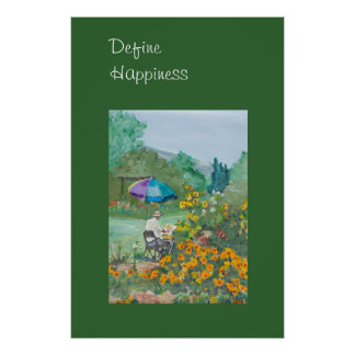 Define Happiness Poster