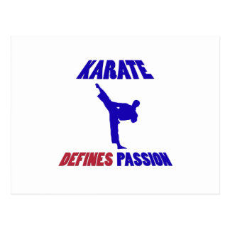 Define karate postcard