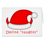 Define Naughty Greeting Cards