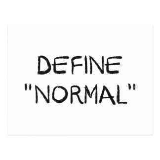 Define Normal Postcard