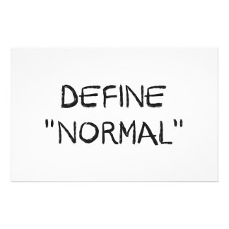 Define Normal Stationery