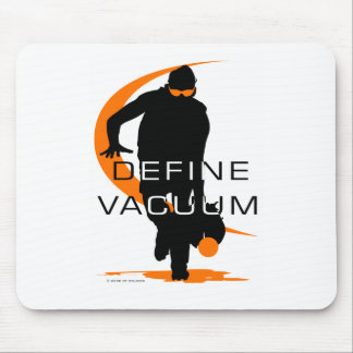 Define vacuum Orange Fielder Softball Mouse Pad