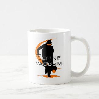 Define vacuum Orange Fielder Softball Classic White Coffee Mug