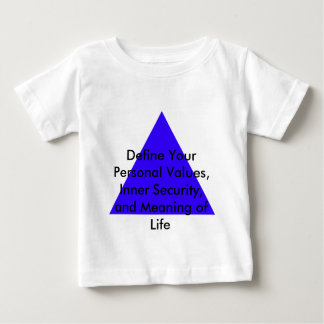 Define Your Personal Values, Inner Security Gifts Baby T-Shirt