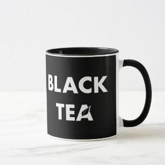 Define Your Tastes: Black Coffee Black Tea Mug