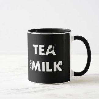 Define Your Tastes: Coffee Milk, Tea Milk Mug