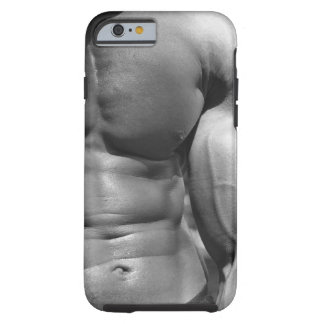Defined abdomen and bicep tough iPhone 6 case