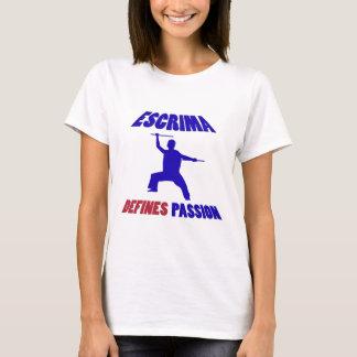 defines  escrima T-Shirt