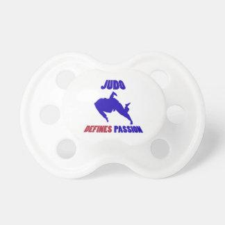 defines judo BooginHead pacifier
