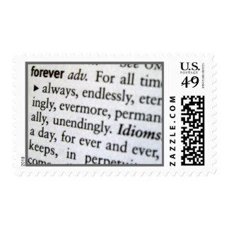 - Definición - ahorre para siempre la fecha Franqueo