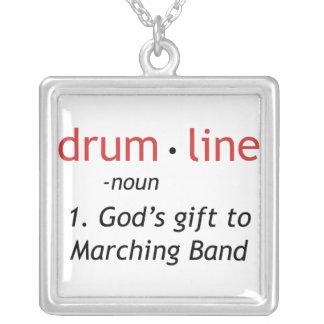 Definición de Drumline Colgante Cuadrado