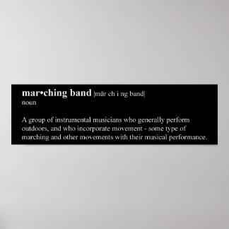 Definición de la banda póster