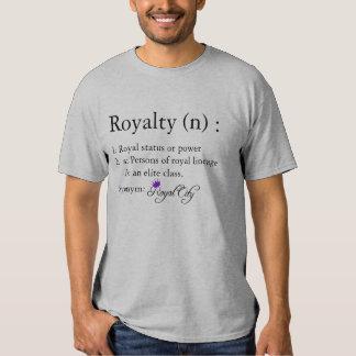 Definición de la camiseta de los derechos remeras