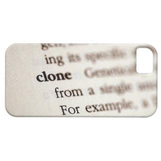 Definición de la copia iPhone 5 funda
