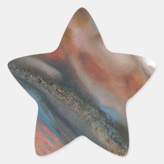 Definición de la extensión 1 pegatina en forma de estrella
