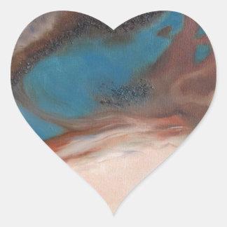 Definición de la extensión 3 pegatina en forma de corazón